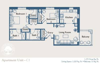 sewickley apartment floor plan