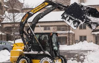 How a Snowstorm Impacts Maintenance-free Living