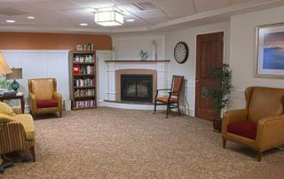 Photo of common area in Transitional Care Unit