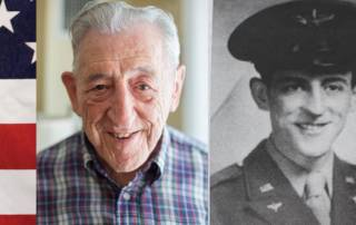 John Francis, a resident of the Masonic Village at Sewickley, looks back on his time in the service.