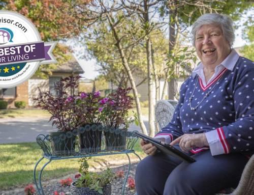 "Four Campuses Named ""Best of"" in Senior Living"