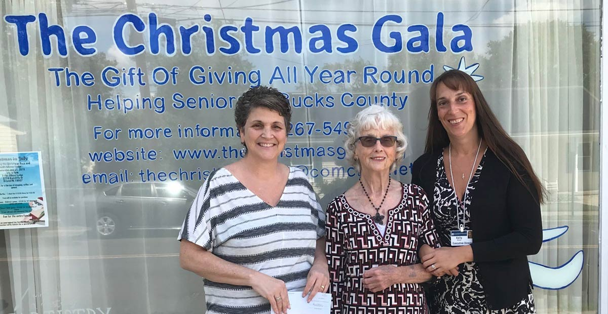 Donation to the Christmas Gala