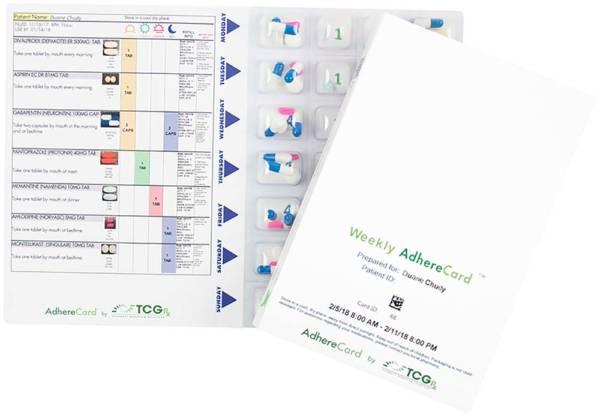 TCGRx Adhere Card