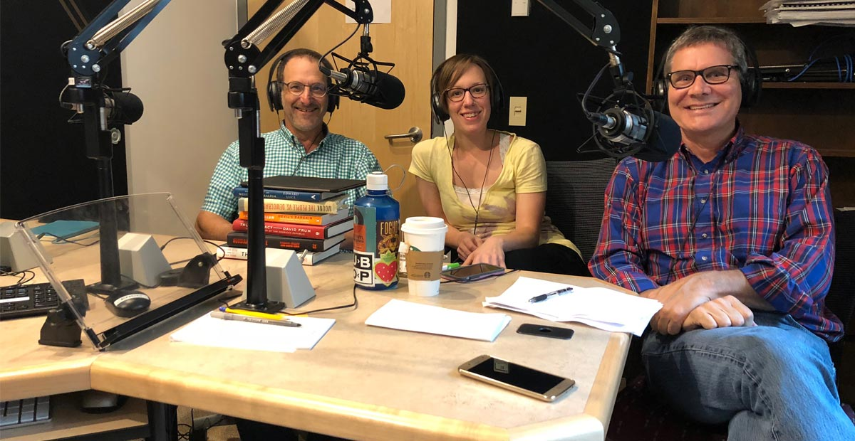 Democracy Works podcast: Michael Berkman, Jenna Spinelle & Chris Beem