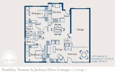 Masonic Village at Elizabethtown Franklin, Truman & Jackson Drive Cottages