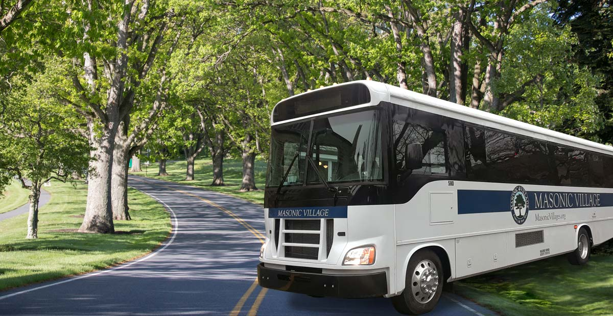 Masonic Village Bus Tours