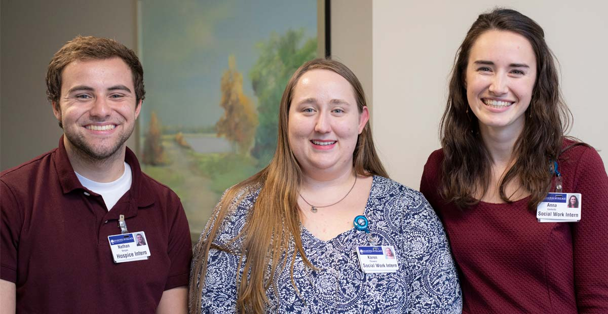 Hospice and Social Work Interns