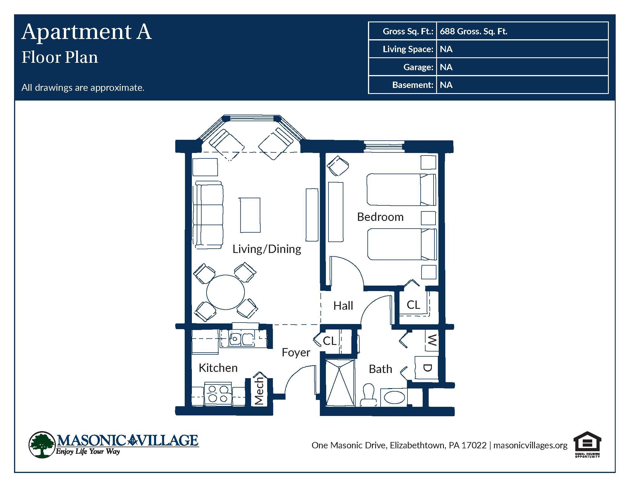 Masonic Village at Elizabethtown - Apartment